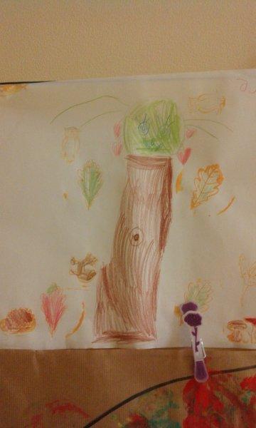 wiem jak drzewo narysować,może w nim zamieszka sowa (5)